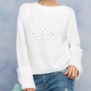 4570c61290f1b Sweaters - Long Sleeve Boat Neck Sweater